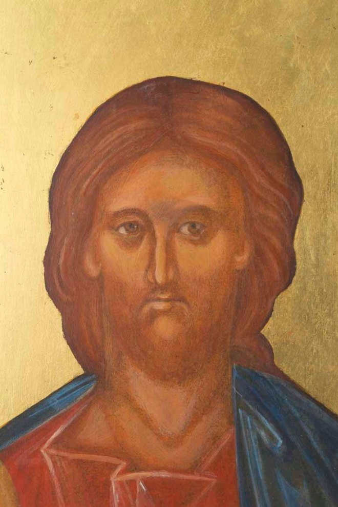 Face of Christ Icon written by C.Hales