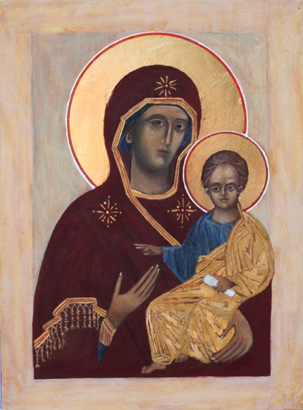Madonna and Child Icon