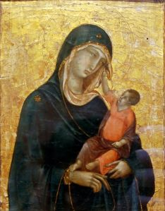 Top Met Paintings Before 1860 04 Duccio di Buoninsegna Madonna and Child