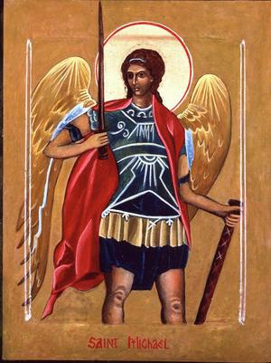 Archangel Michael by Christine Hales