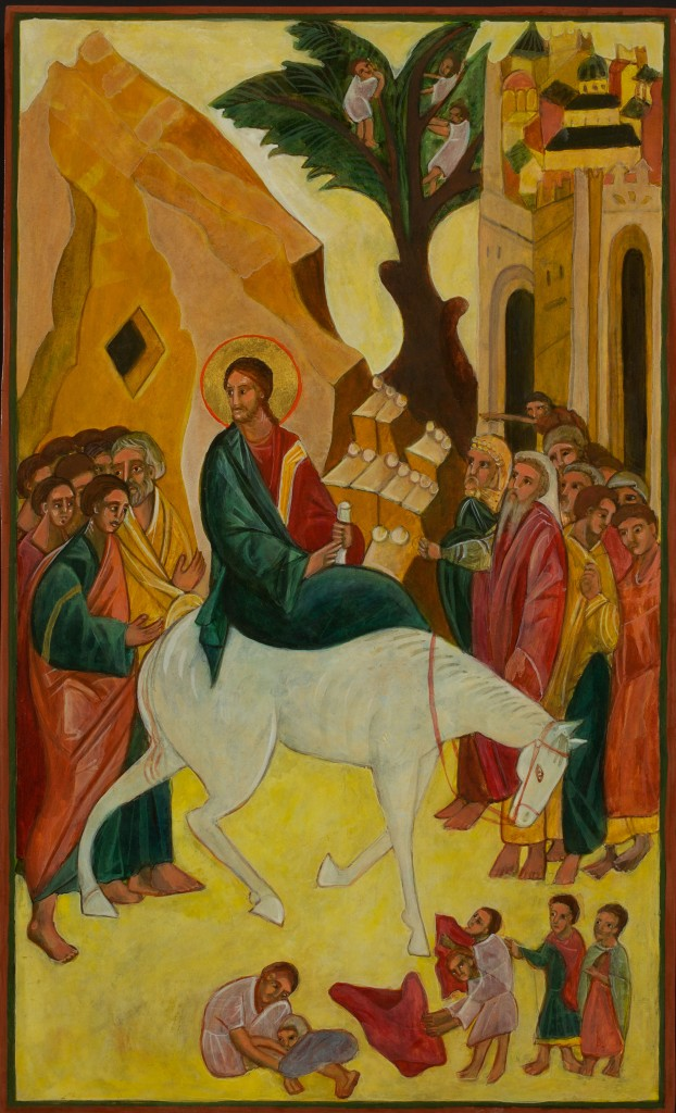 Entry into Jerusalem Icon