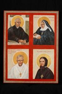Four Anglo/Catholic Saints