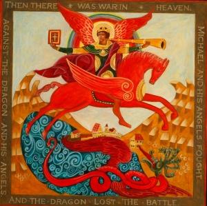 St. Michael in Battle Icon