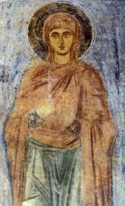Woman Saint Icon