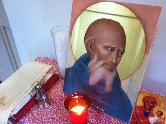 St Benedict Icon