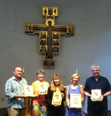 Icon Class at Holy Cross