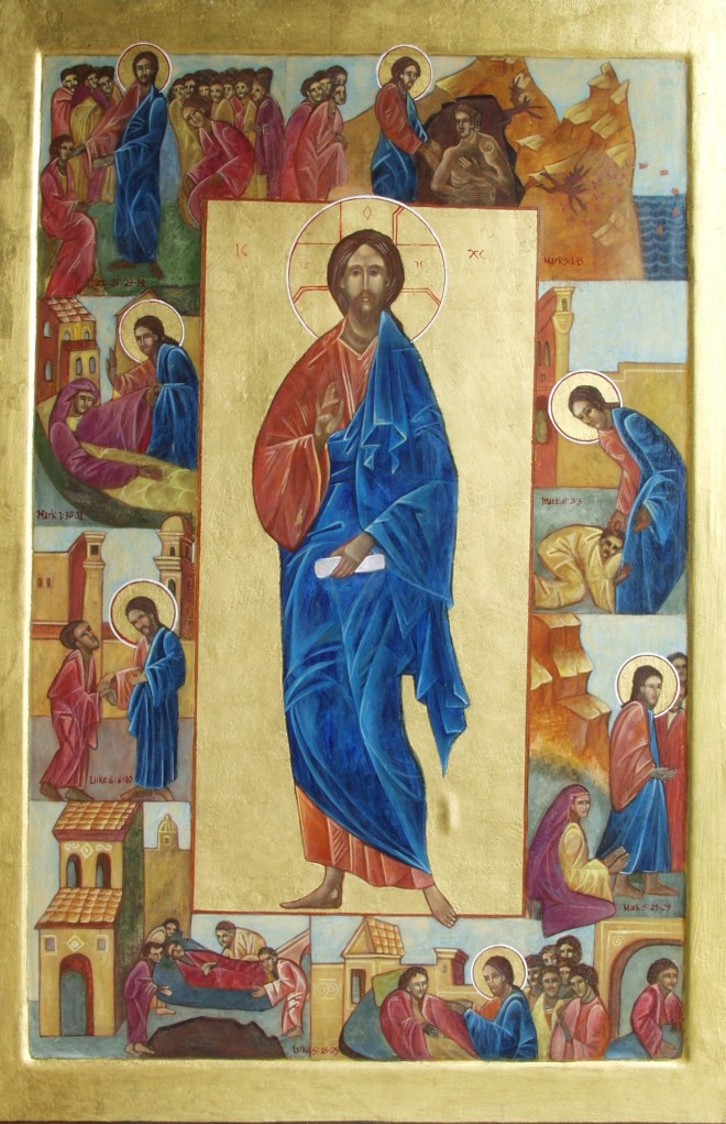 Christ the Healer Icon