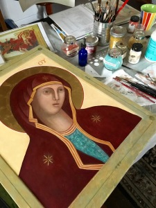 Icon of Mary
