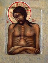 Mourning Christ by Christine Simoneau Hales