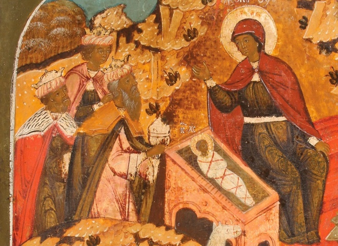 Russian Epiphany Icon