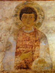 Early Christian Icon from St. Sophia Cathedral, Kiev