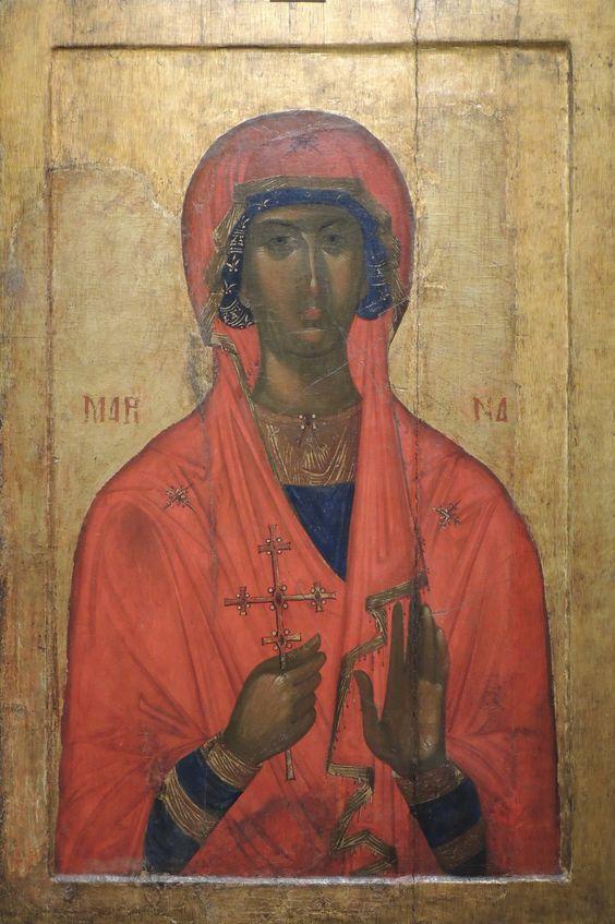 Saint Marina Icon