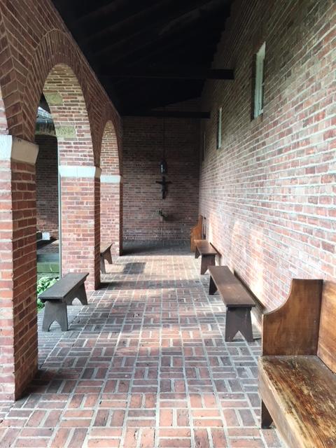 Cloister holy Cross Monastery, West Park, NY