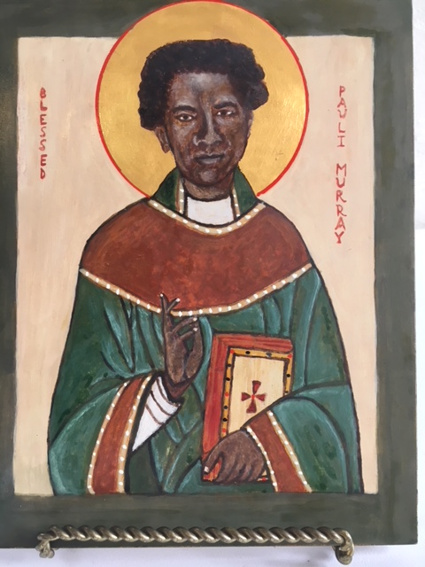 Blessed Pauli Murray Icon by Peter Antonci
