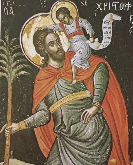 Saint Christopher, photo credit: Kostas Paschalidis