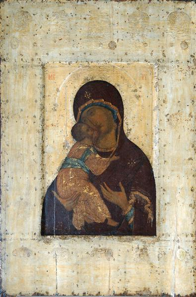 Virgin of Vladimir, Andrei Rublev Icon