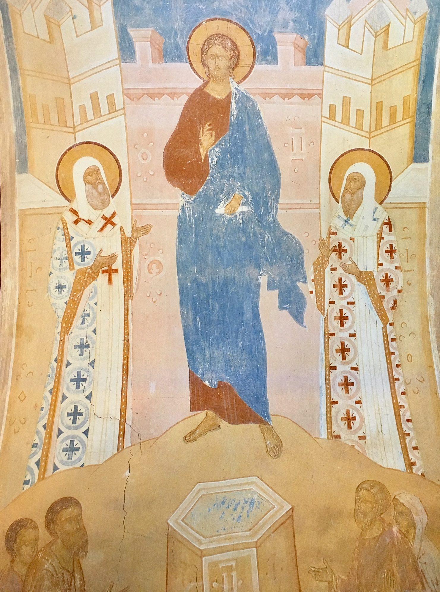 Christ Fresco, Dionysus