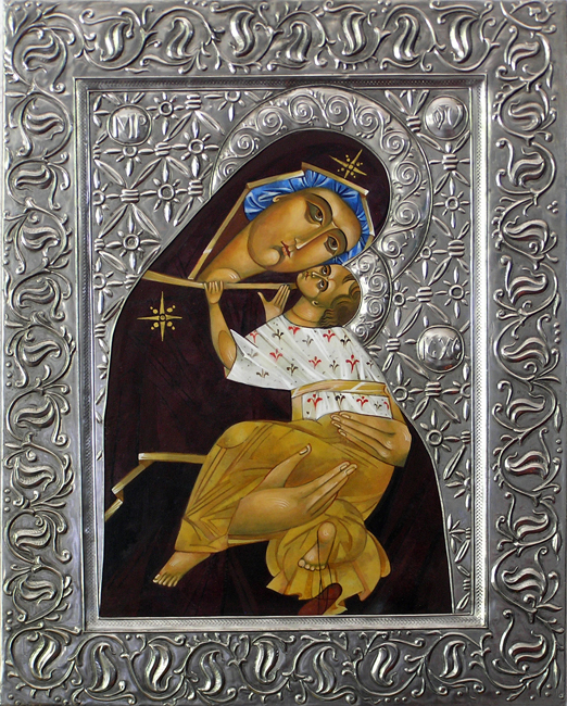 Mary Icon by Mary Jane Miller