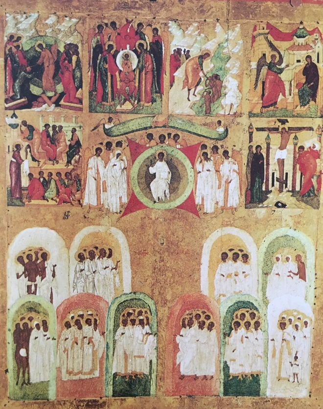 Feast Days of the Week Icon in the Tretyakov Gallery, Moscow