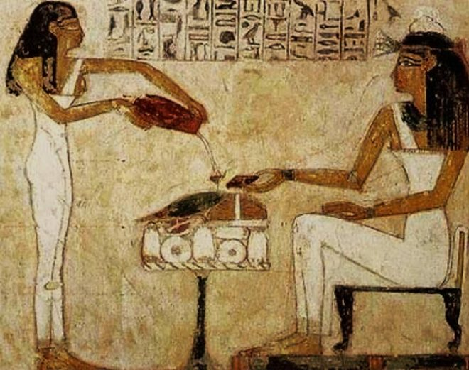 Egyptian painting