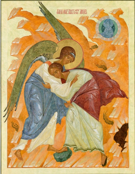 Jacob Wrestling with the Angel, Nikita Andrei