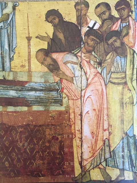 Detail, Dormition Icon