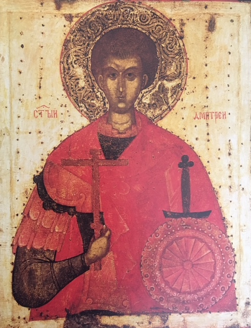 St. Demetrius of Thessalonica Icon, mid Fifteenth Century