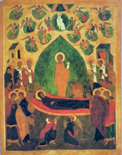Dormition, Dionysius, late 15th Century