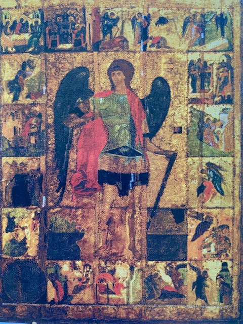 Archangel Michael, 1399, Archangel Cathedral, Moscow