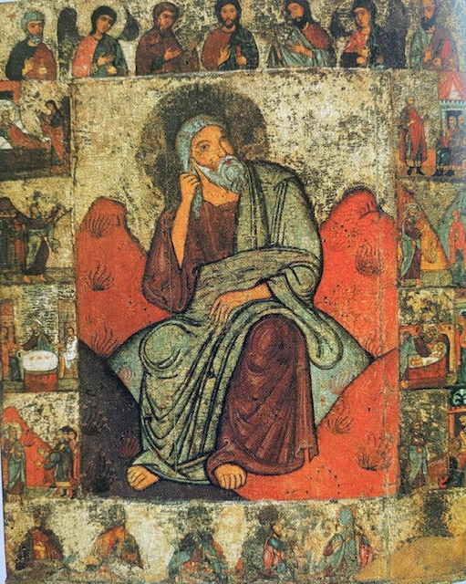 Prophet Elijah and scenes from His Life, 13th Century