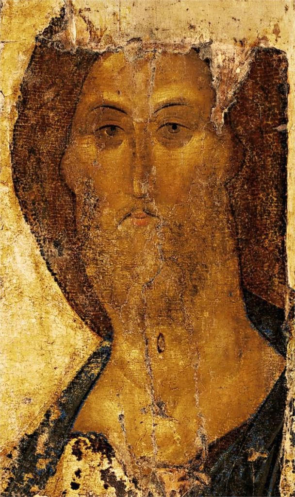 Christ by Andrei Rublev